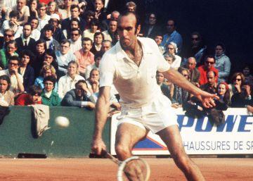 Muere Andrés Gimeno, uno de los símbolos del tenis español