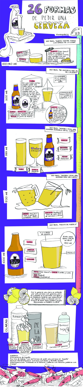 informacion de como servir una cerveza