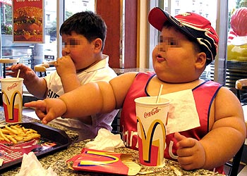 Niños obesos