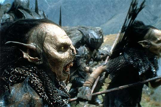 Los Orcos de 'El señor de los anillos'