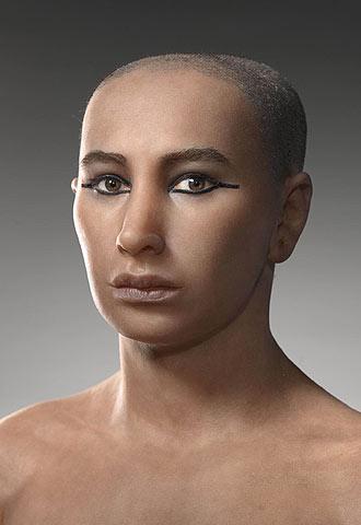 El nuevo rostro de Tutankamón