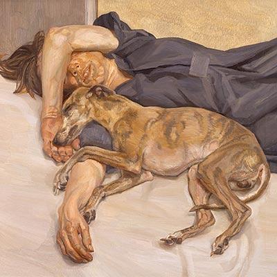 Doble retrato, de Lucian Freud-