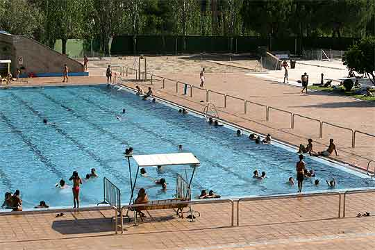 la piscina del barrio madrile o de la elipa edici n