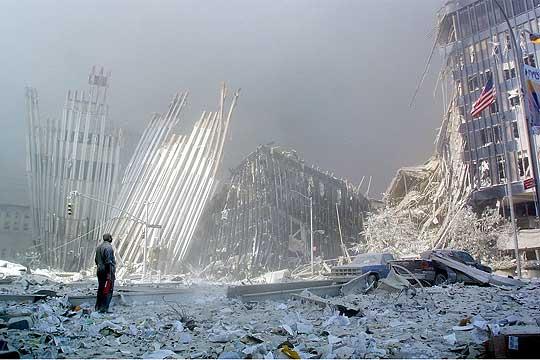 Torres Gemelas imagenes antes y despues 911