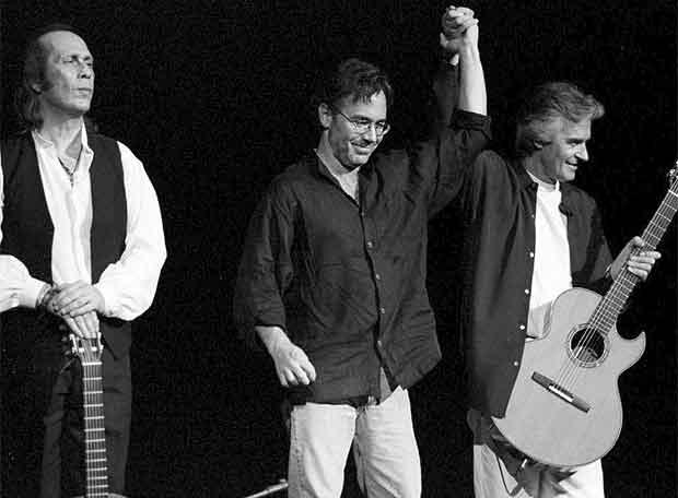 Resultado de imagen de Paco De Lucia, Al Di Meola & John Mclaughlin