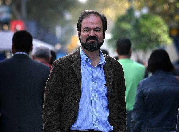 Juan Villoro, escritor mexicano en Barcelona