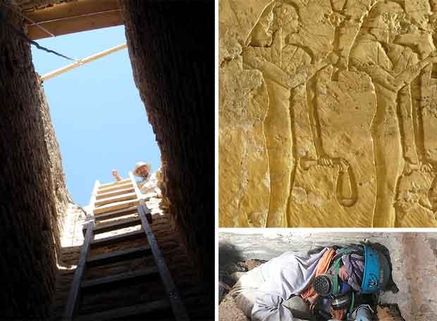 Los tesoros de la tumba de Djehuty