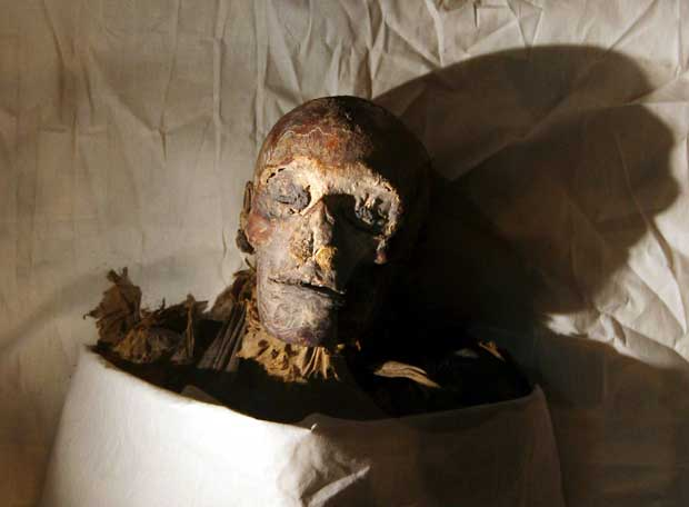 La momia de la reina Hatshepsut