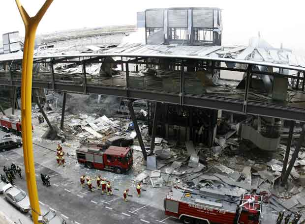 fotos atentado t4 madrid: