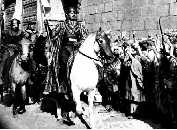 Fotograma de la película 'El Cid'