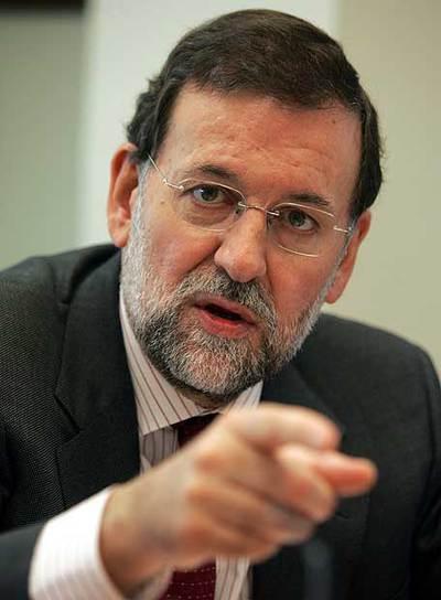Mariano Rajoy Brey, presidente del PP
