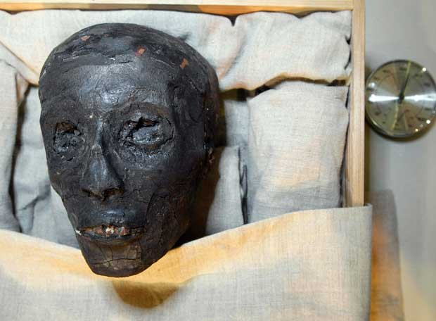 Rostro de Tutankamón