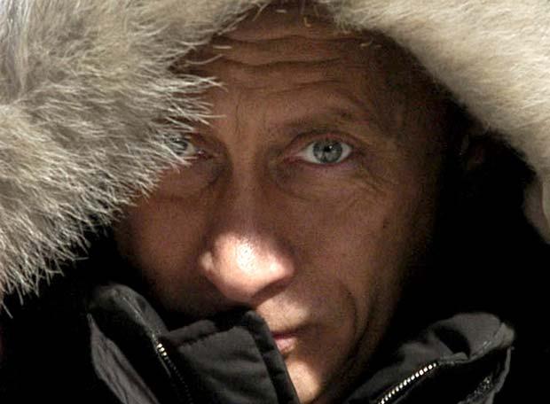 Putin, por Siberia