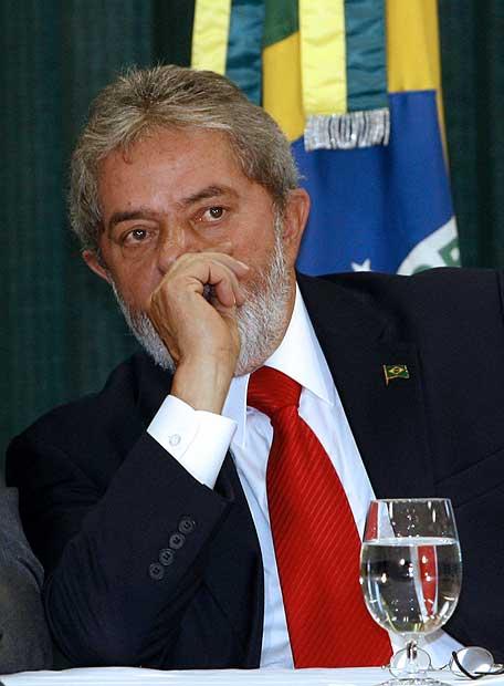 El presidente brasileño, Luiz Inázio Lula da Silva