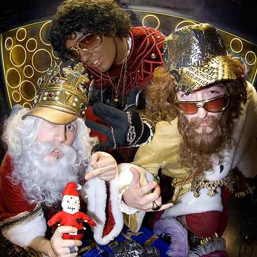 Los tres reyes miados