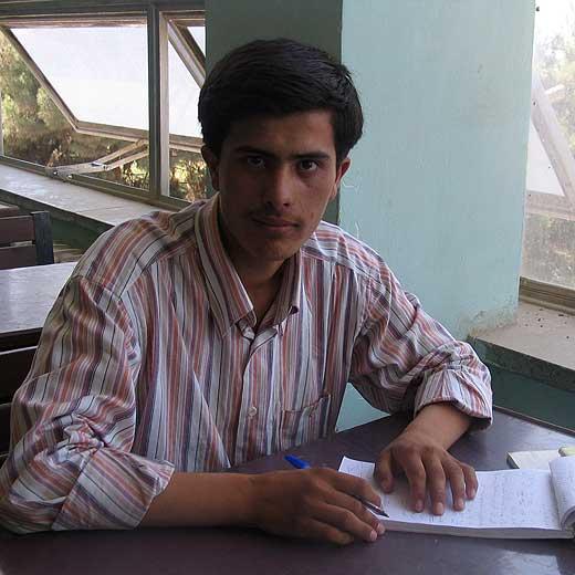 El periodista Sayed Perwiz Kambajsh