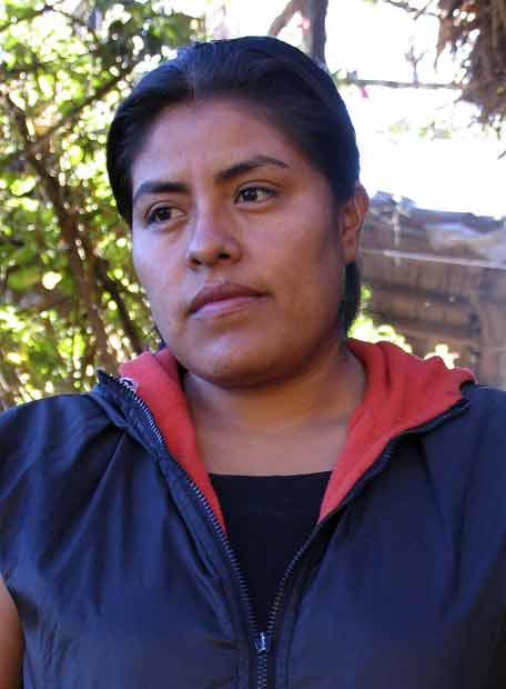 Eufrosina Cruz.