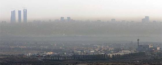 Resultado de imagen de el pais noticia de la polucion de madrid
