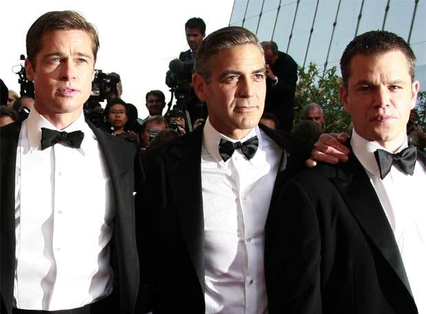 Brad Pitt George Clooney. Brad Pitt, George Clooney y