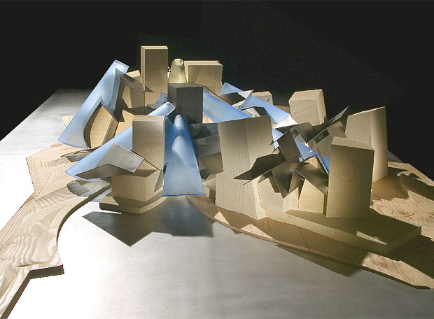 Maqueta Del Futuro Museo Guggenheim En Abu Dabi Edicin