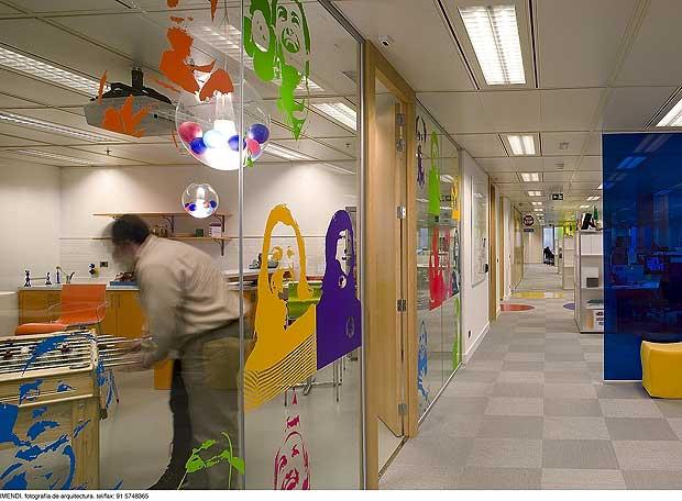 Las oficinas de google en madrid edici n impresa el pa s for Vaciado de oficinas en madrid