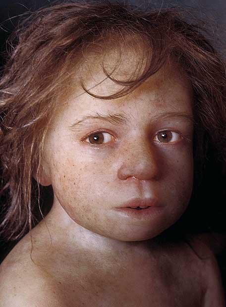 Niño neandertal