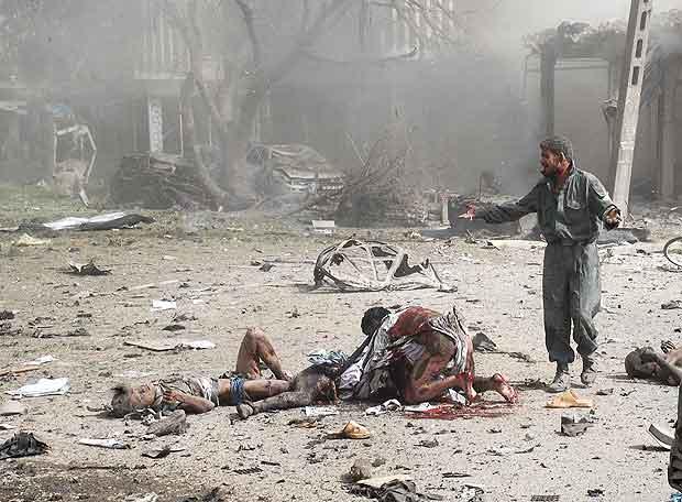 Víctimas del atentado contra la Embajada india en Kabul
