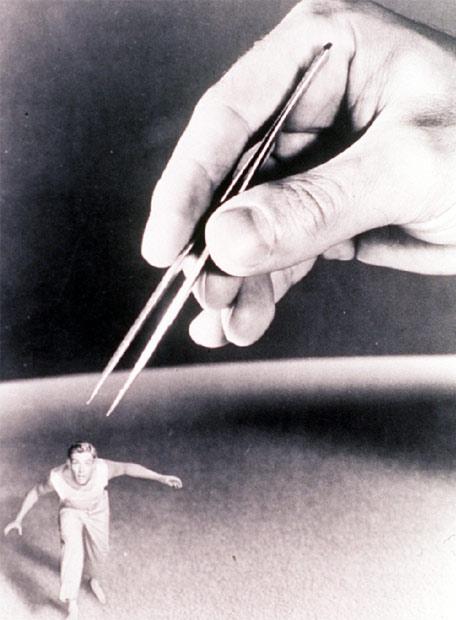 Fotograma de la película El increíble hombre menguante
