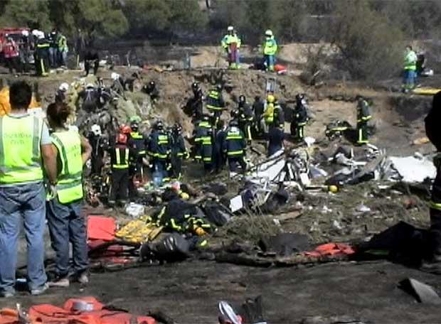 Rescate de las víctimas del accidente aéreo | Edición ...
