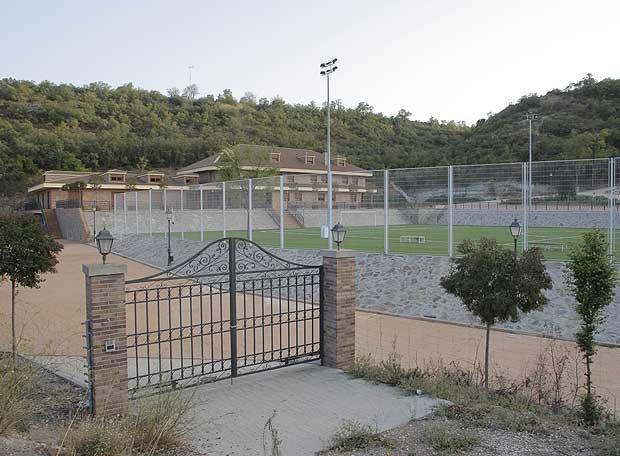 Centro deportivo en la finca de la Fontadela, en Loeches