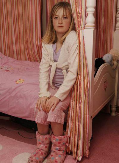 Hannah Jones tiene 13 años y padece leucemia