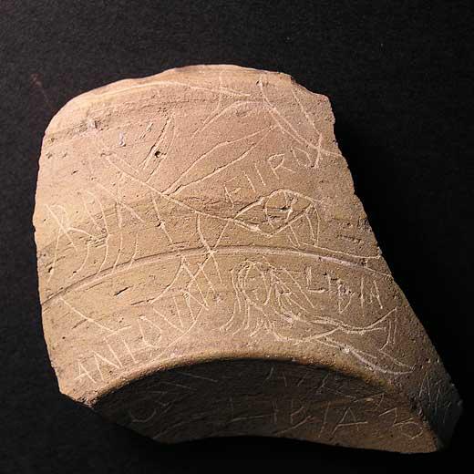 Iruña-Veleia, culebrón arqueológico Piezas_yacimiento