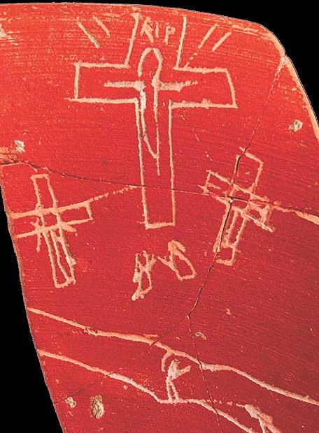 Iruña-Veleia, culebrón arqueológico Primeras_piezas_sembro_dudas_llevar_imagen_Cristo