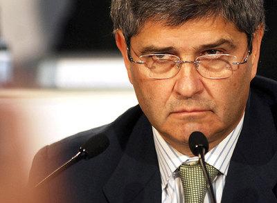 El presidente de Martinsa-Fadesa, Fernando Martín- GABRIEL TIZÓN
