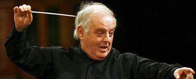El director de orquesta argentino-israelí Daniel Barenboim