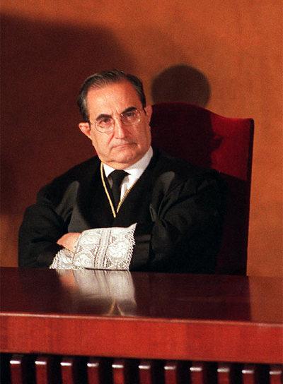 El magistrado Vicente Conde Martín de Hijas- GORKA LEJARCEGI