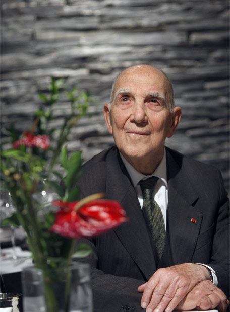 Stéphane Hessel, author of Indignez-vous!