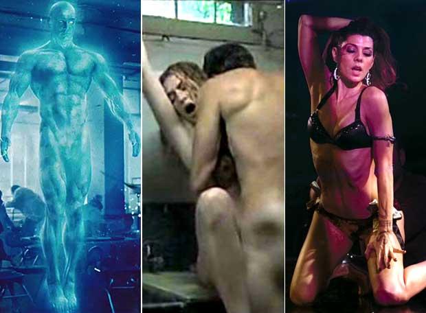 Fotogramas de 'Watchmen, Juegos secretos' y 'El luchador'