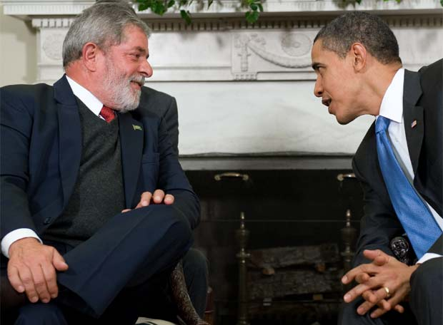 Luiz Inácio Lula da Silva y Barack Obama