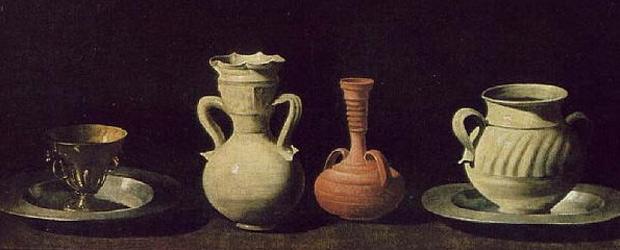 Bodegón de los cacharros de Zurbarán (1660)