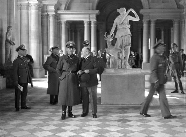 El Louvre bajo la ocupación