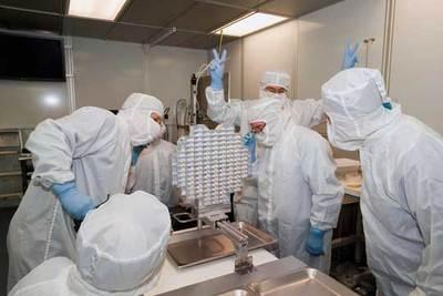 Científicos de la misión Stardust