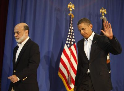 Bernanke i Obama