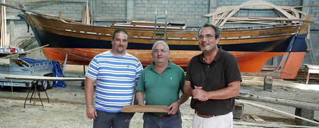 Miguel Jesús Gago, Manuel Mougán y Marcelino Abuín
