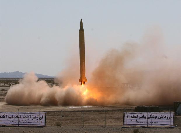 Misil despega en Irán