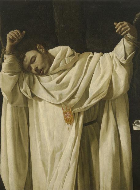 Cuadro de Zurbarán, 'San Serapio'