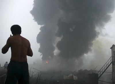 Incendio en una planta industrial de la provincia de Henan