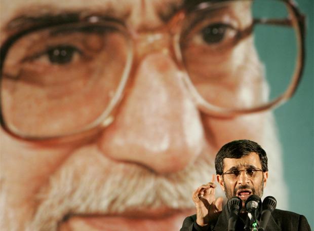 El presidente Ahmadineyad