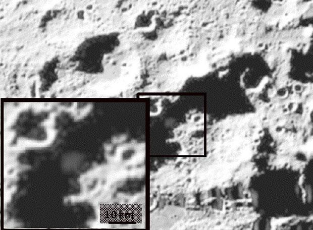Efectos del impacto de la sonda en la Luna