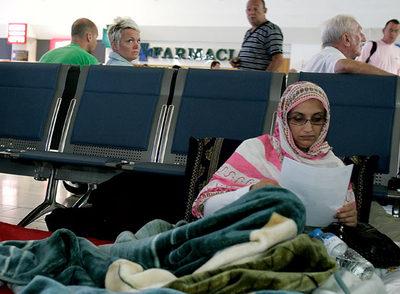 La activista saharaui Aminatou Haidar